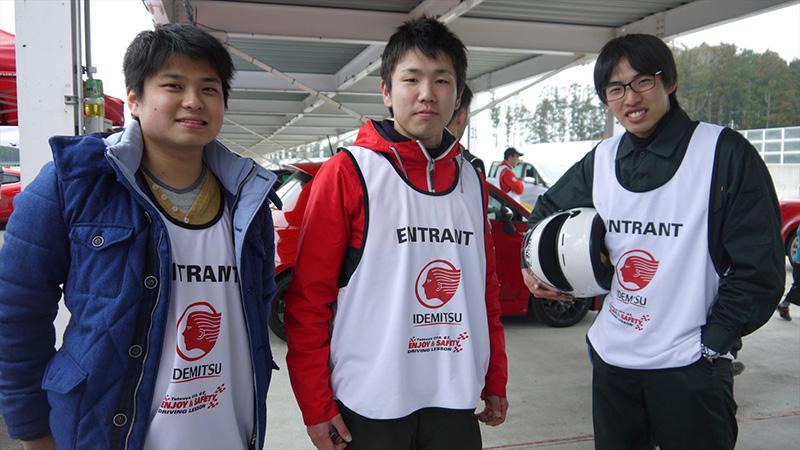 左から、原田和博さん、瓜田将智さん、福沢征人さん
